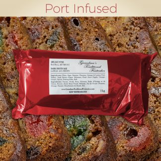 Port Infused - Dark Fruitcake 1kg
