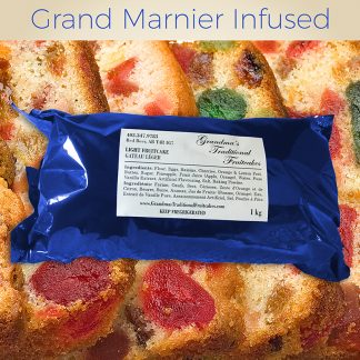 Grand Marnier Infused - Light Fruitcake 1kg